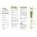 Pen-type waterproof PH Meter with replaceable electrode skin care active ingredients